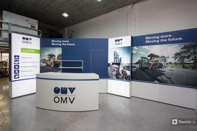Výstavní stánek OMV