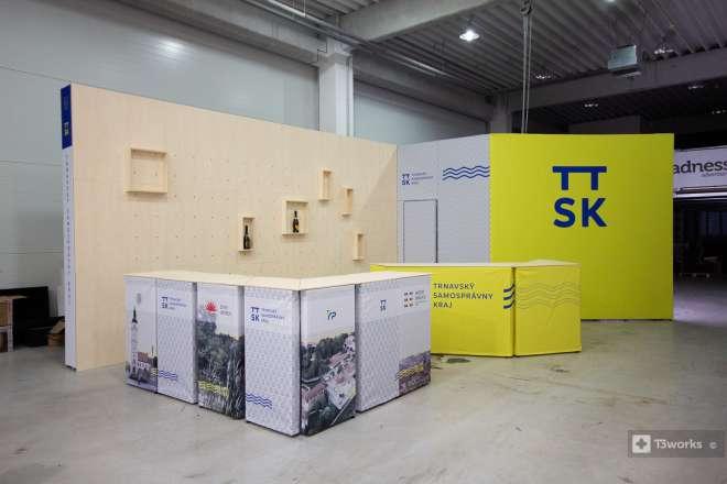 Výstavní stánek - Trnavský samosprávny kraj
