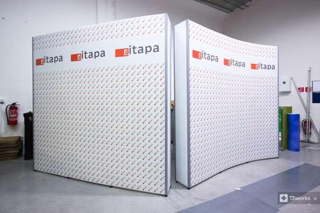 Flexi stena 240x240 cm