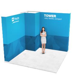 Stánek tvaru L - Tower